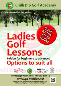 Ladies Golf poster v1