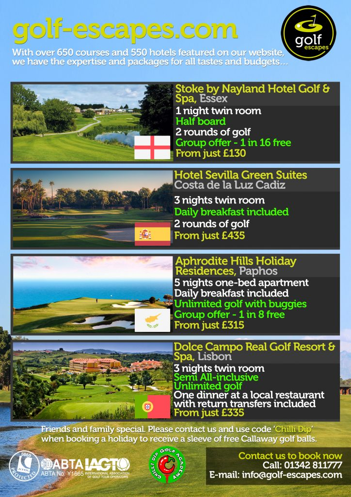 Golf Escapes Offers for June
