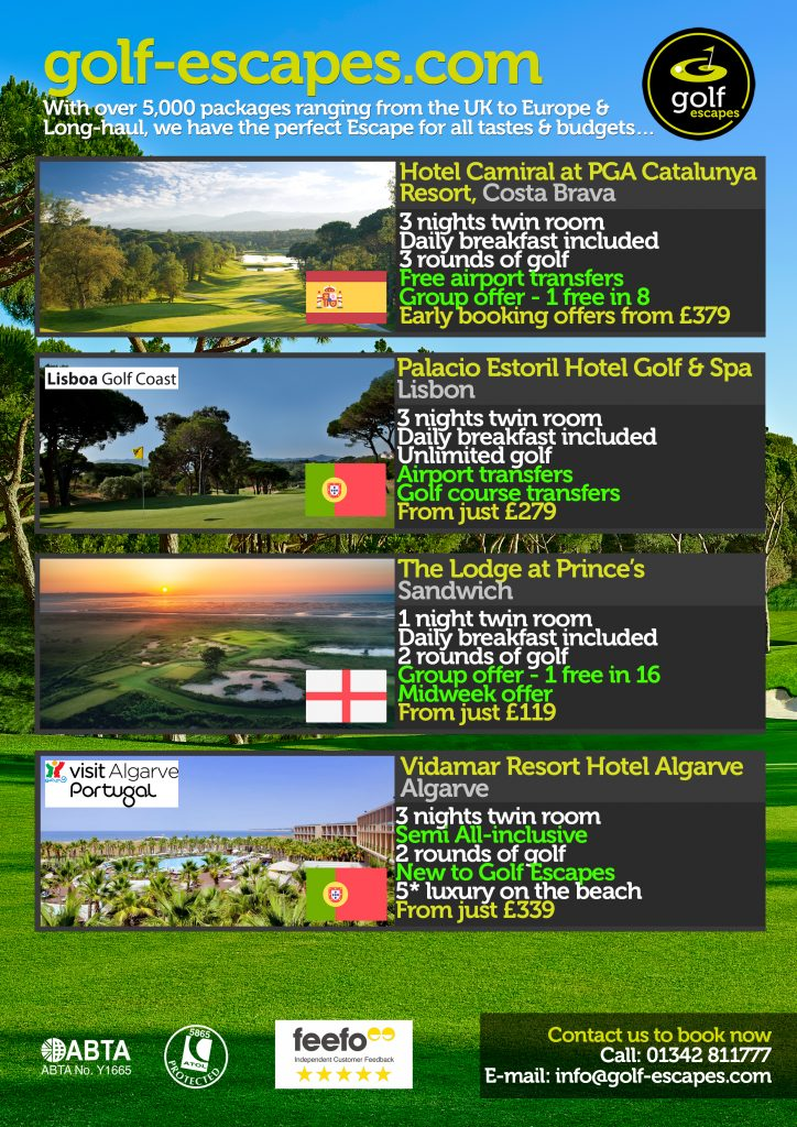 March Golf Escapes